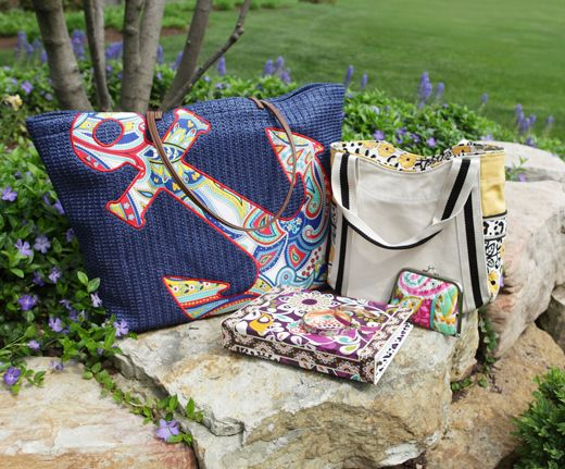 The ideal Vera Bradley bridesmaids gifts of our employee brides-to-be.