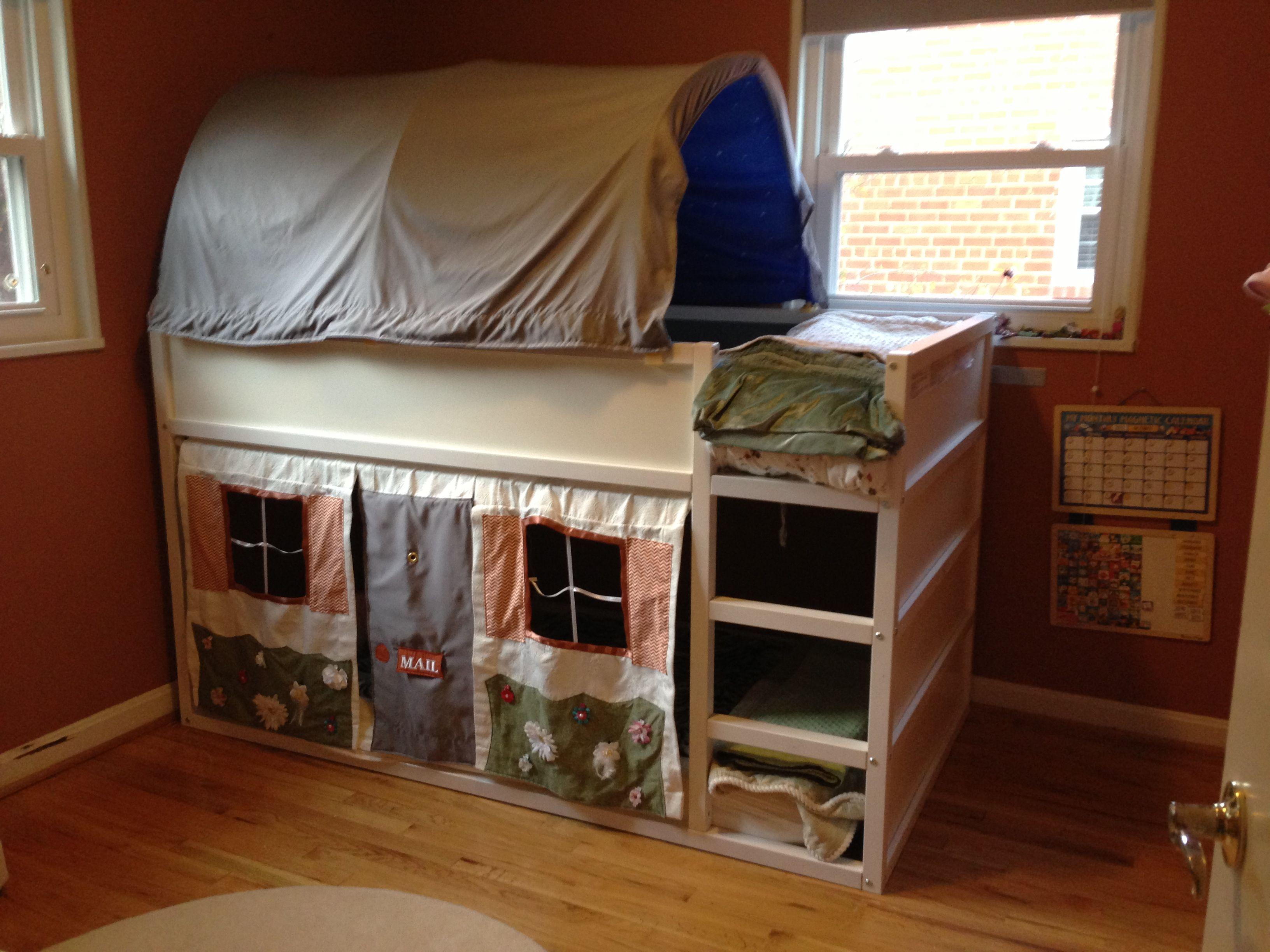Kura Bunk Inspiration Ikea Kura Mydal Kids Room