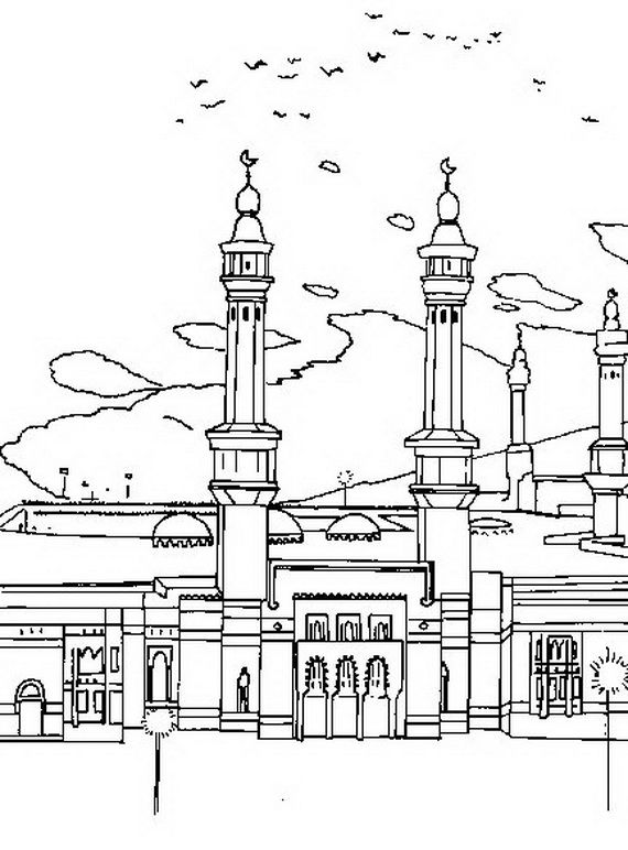 ramadan coloring pages for kids_16   Islam   Pinterest