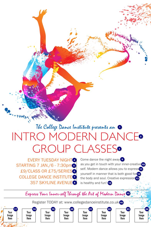 Modern-Dance-White-Logo-Poster.png (786×1179) | Sass | Pinterest ...