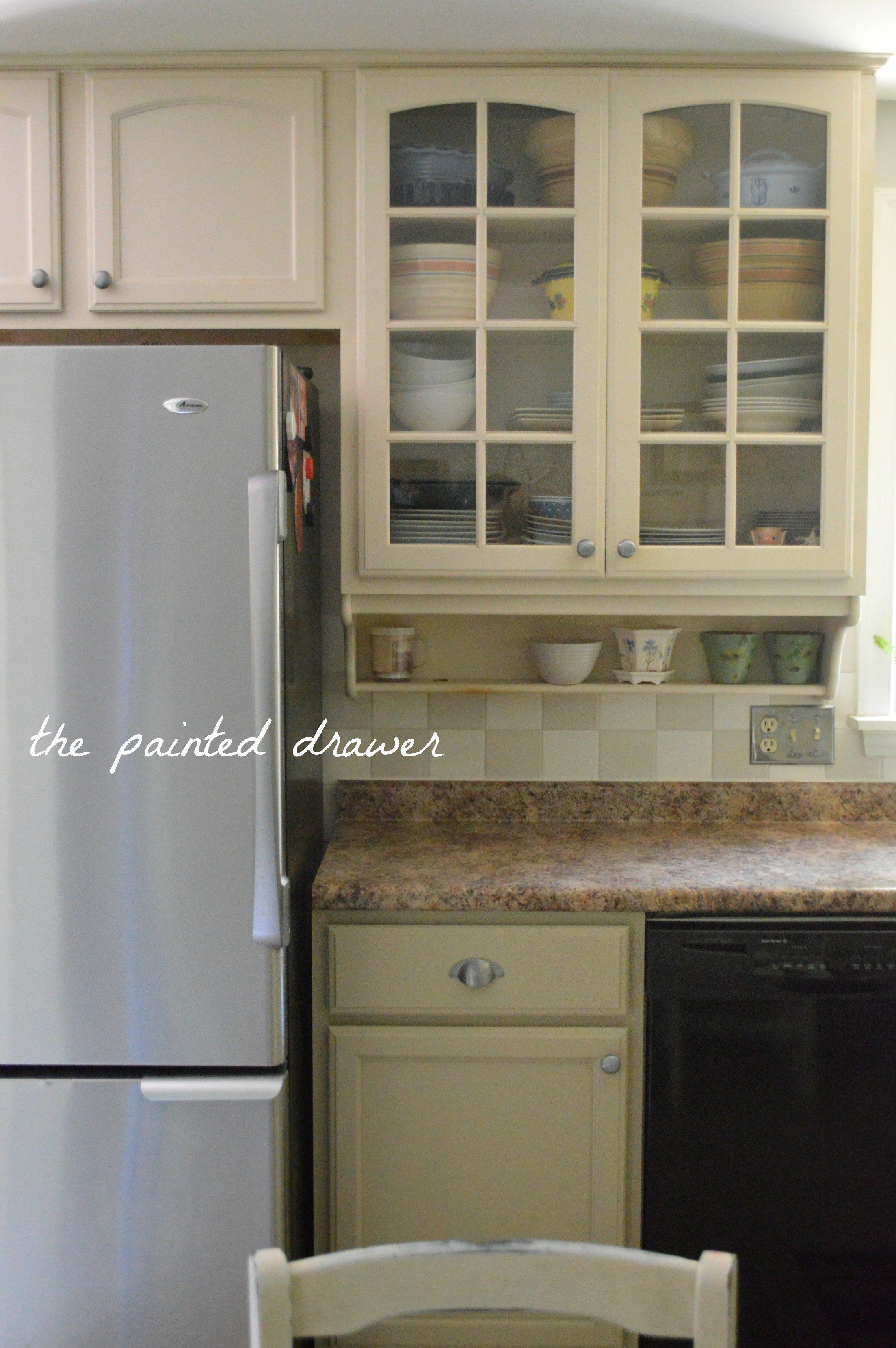 General Finishes Millstone Painted Kitchen Cabinets Kitchen Cabinets Painted Before And After Kitchen Cabinets Finish Kitchen Cabinets
