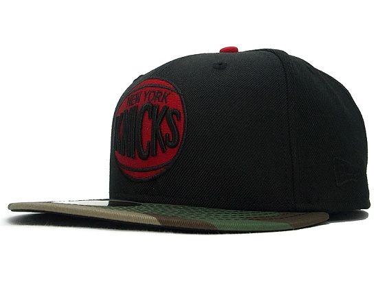 54d62c37538 Custom NEW ERA x NBA「New York Knicks Woodland Camo」59Fifty Fitted Baseball  Cap