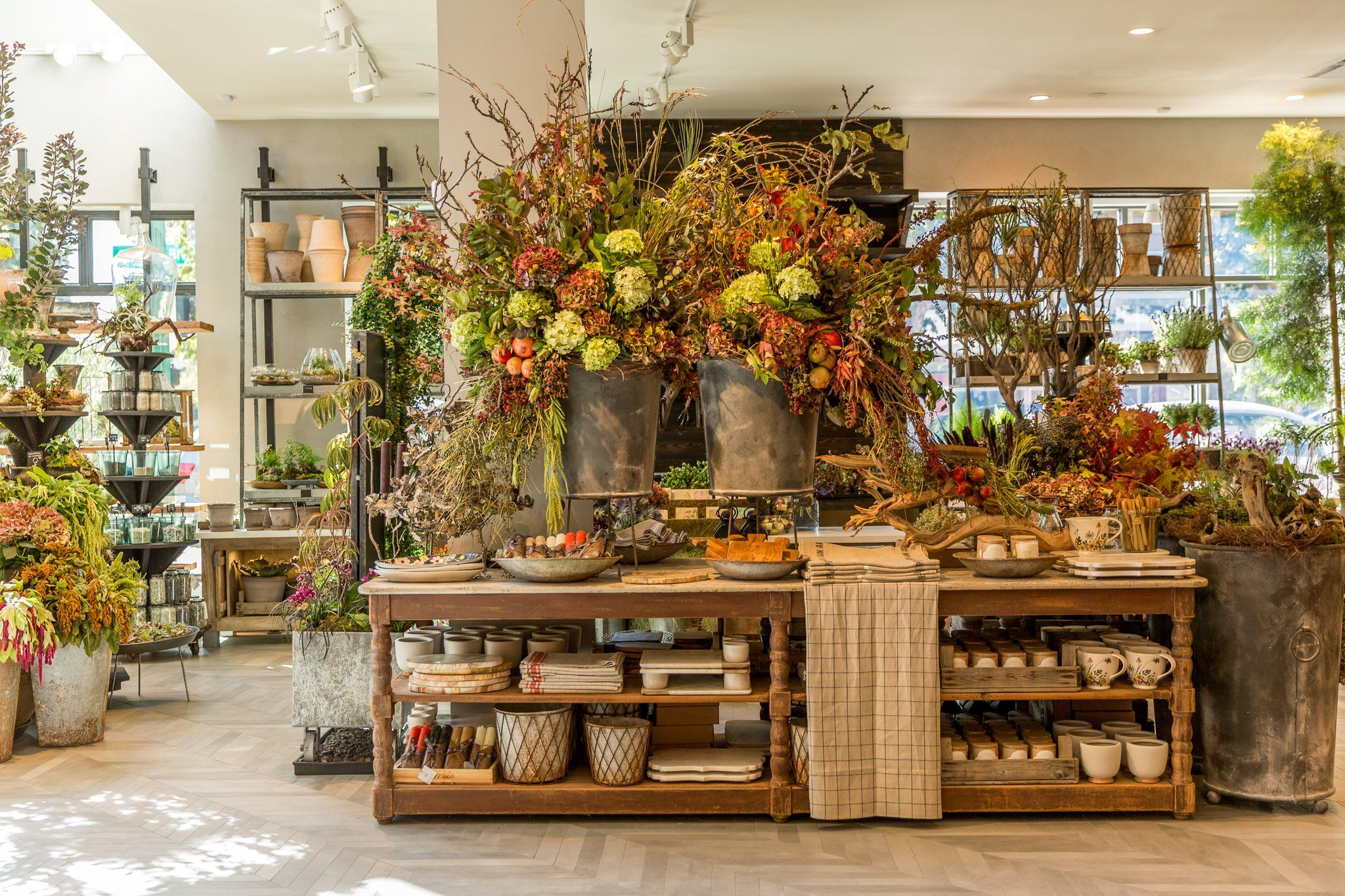 Anthropologie S New Concept Store Is Exactly What You Ve Been Waiting For Home And Garden Store Fall Store Displays Store Decor