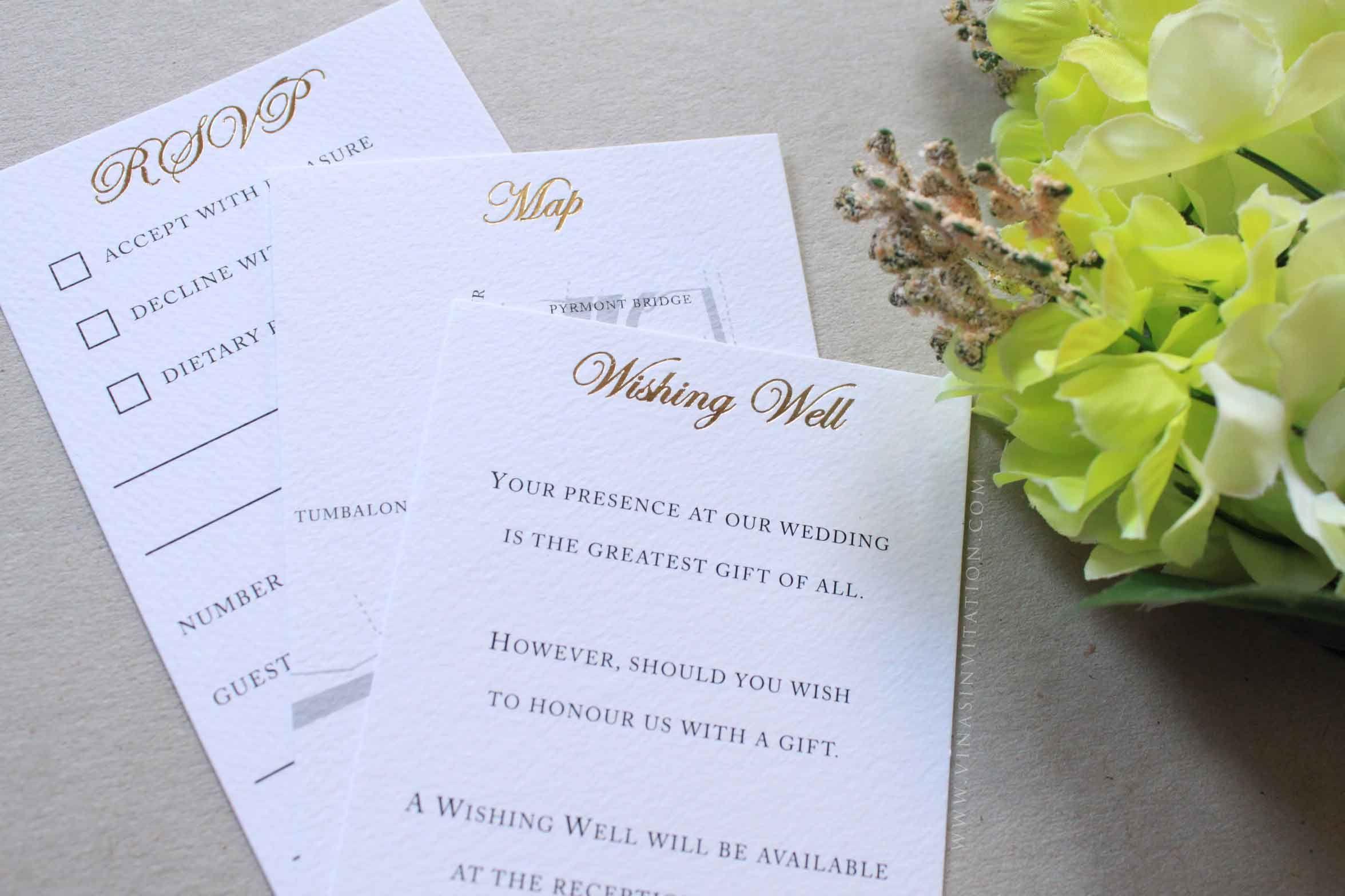Wedding Invitations Sydney: Vinas Invitation. Black And Gold Invitation. Australian