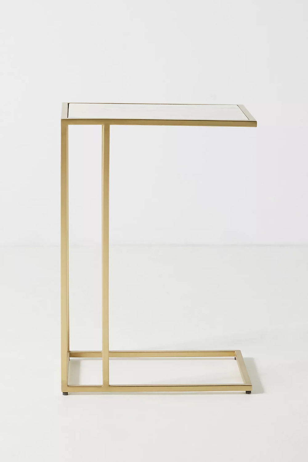 Charlize C Shaped Side Table Side Table Brass Side Table Stainless Steel Frame [ 1500 x 1000 Pixel ]