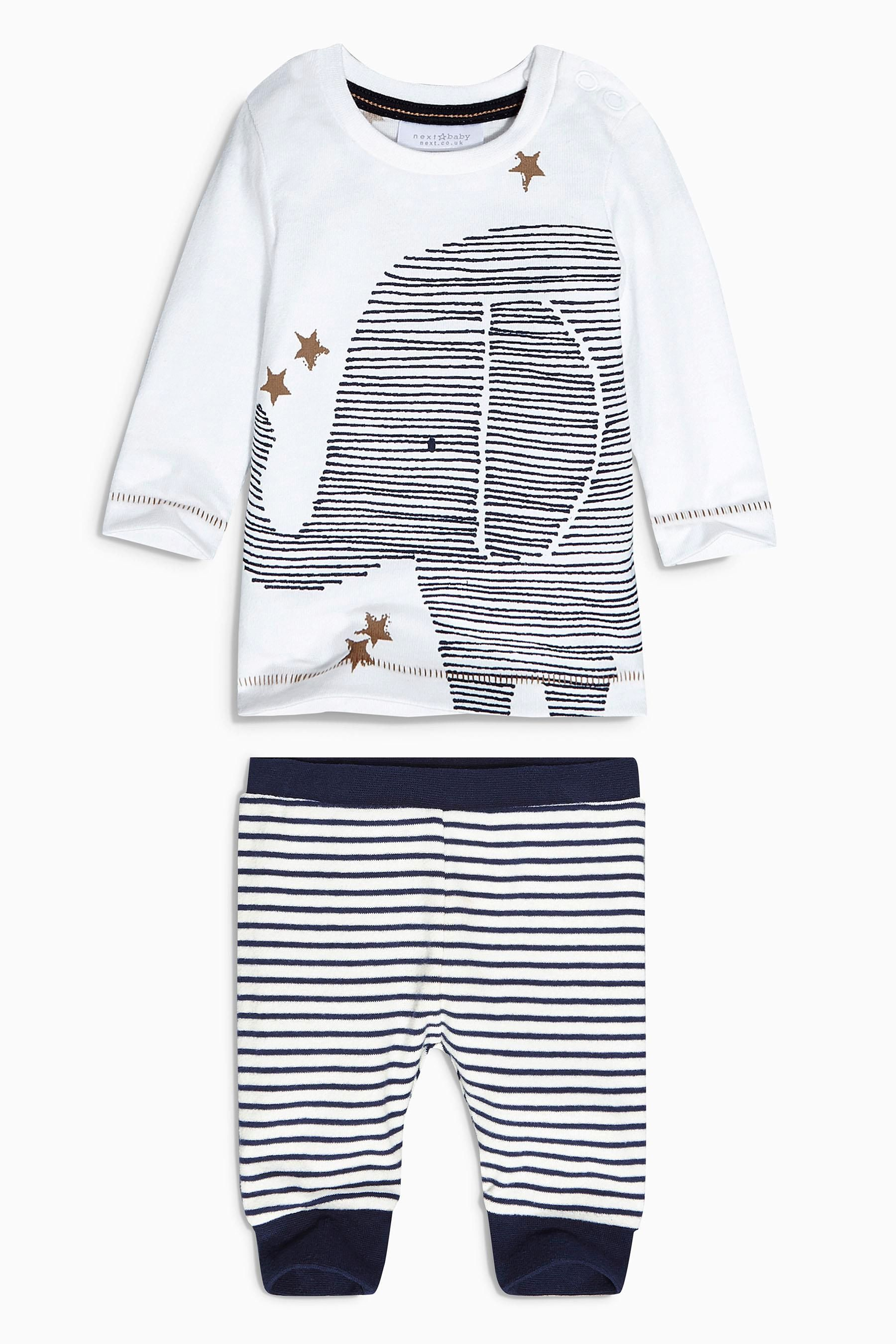 Buy Elephant Two Piece Set 0 18mths from the Next UK online shop