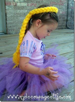 Rapunzel hair headband.#hair #headband #rapunzel