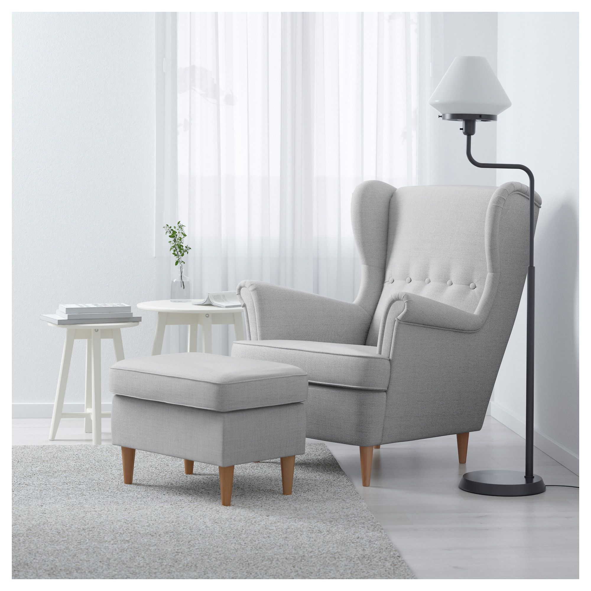 Incroyable IKEA STRANDMON Wing Chair 10 Year Guarantee. Read About The Terms In The  Guarantee Brochure.