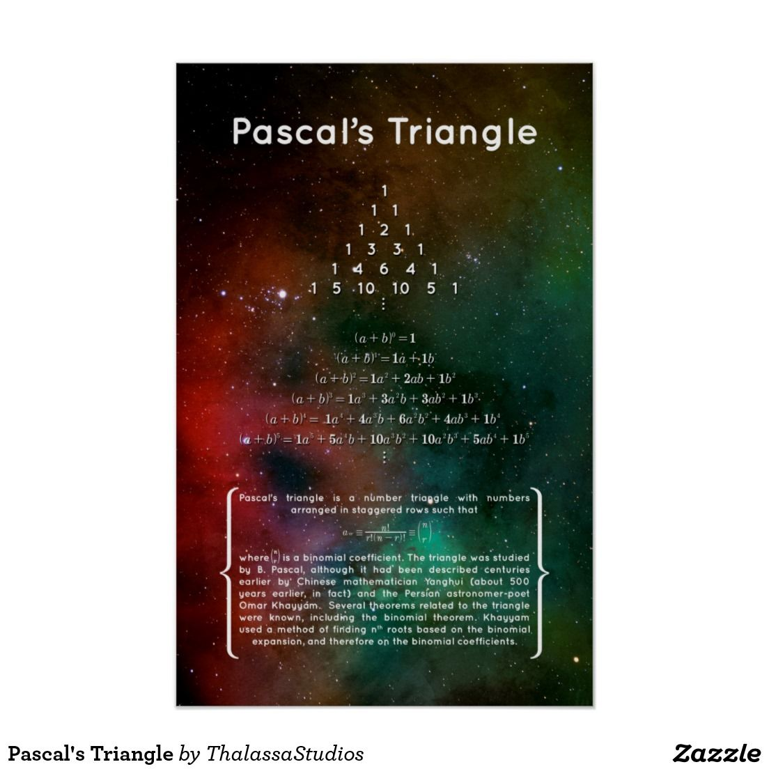 Pascal S Triangle Poster