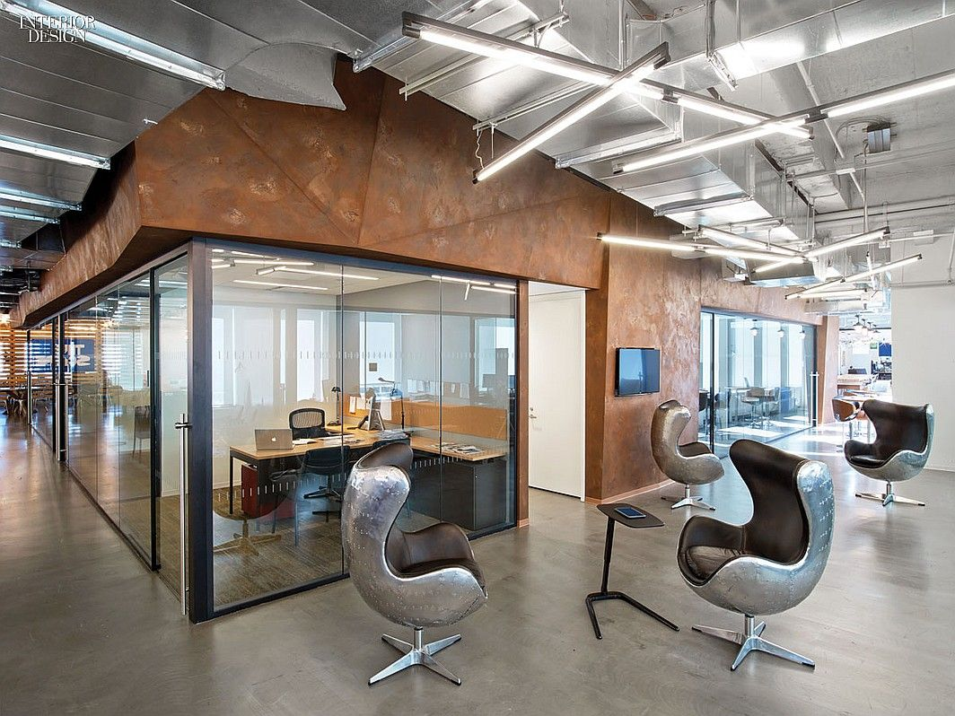 That S Entertainment 5 California And Nyc Companies Shine Spotlight On Design Corporate Interiors Corporate Office Design Interior Design Magazine