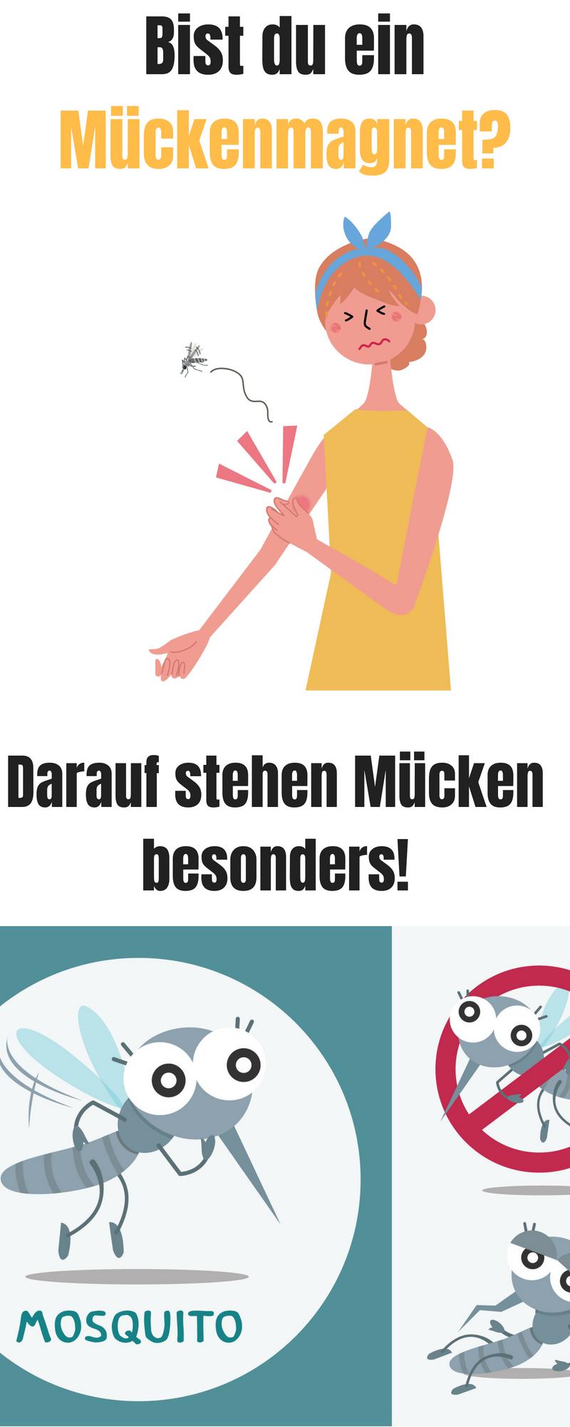 Bist Du Ein Muckenmagnet Deutschsprachige Bloggerinnen Das