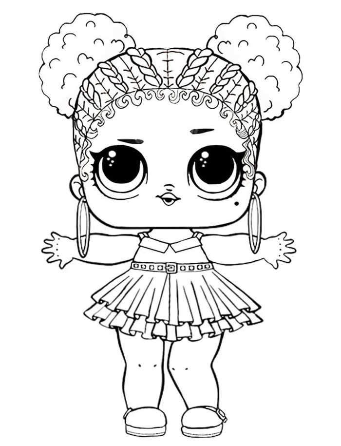 Purple Queen Lol Doll Coloring Pages In 2020 Unicorn Coloring Pages Bird Coloring Pages Animal Coloring Pages