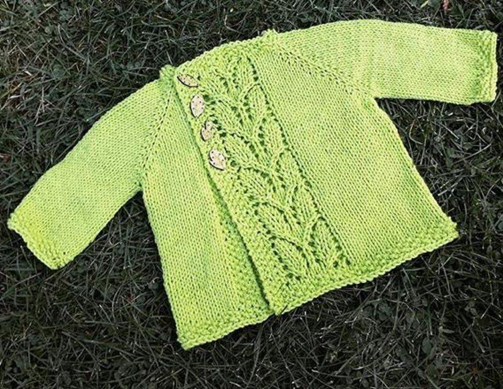 Leaf Love Baby Sweater | Bebés y niños | Pinterest | Bebé