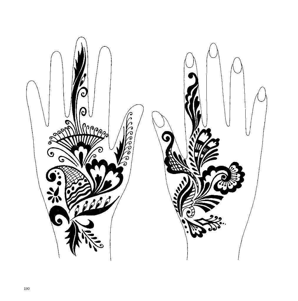 Traditional Henna Designs
