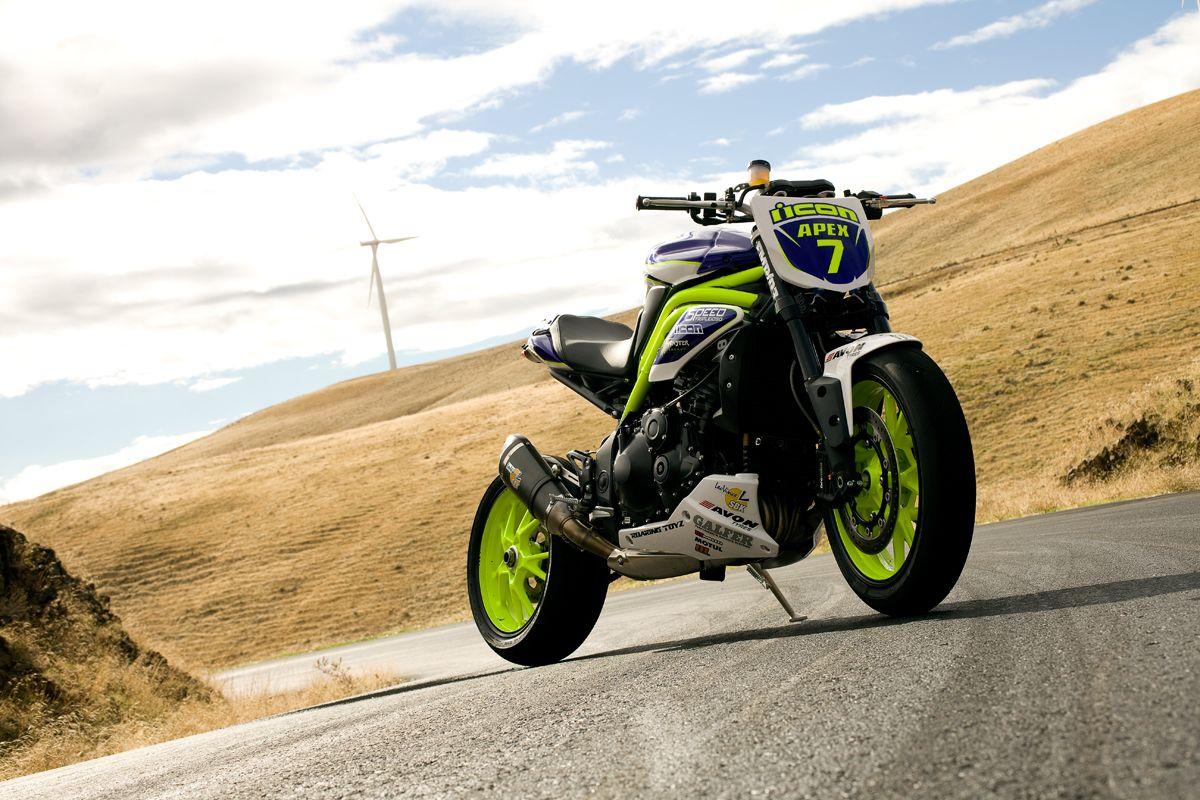 Triumph Speed Triple | MOO THOR | Motorcycle drifting, Bike