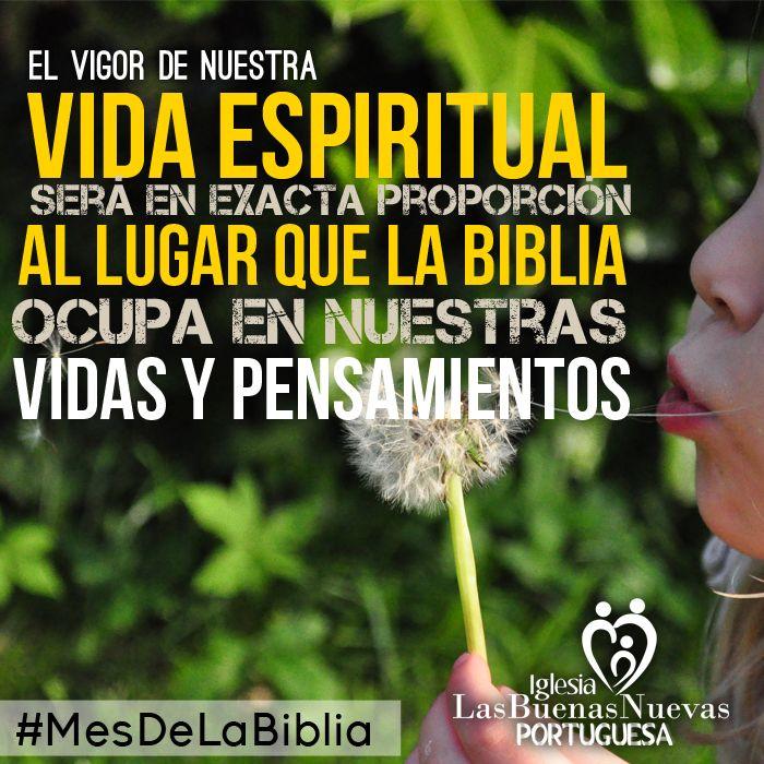 Mes de la Biblia Iglesia Buenas Nuevas Portuguesa LBNP
