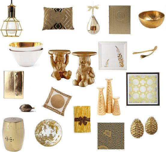 Gift Guide Golden Accents For Friends Gold Home
