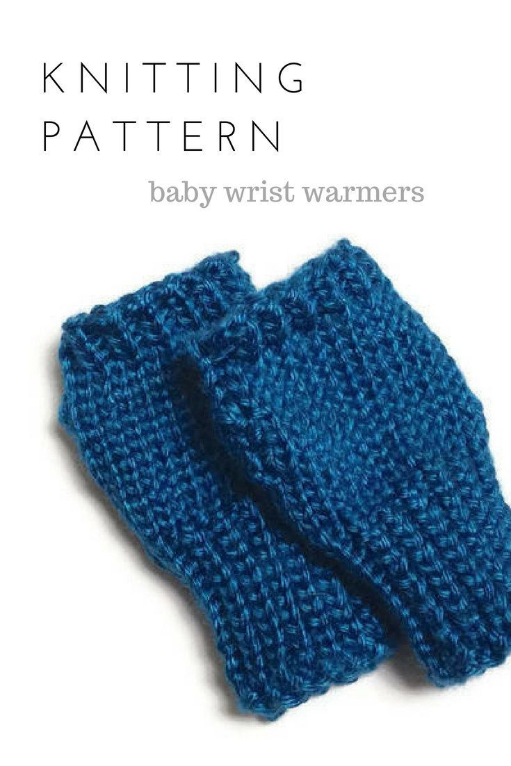 Baby Knitting Patterns Pdf Printable Fingerless Gloves Wrist