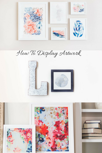 How to display artwork how to hang pictures diy do it yourself how to display art work with minted stephs home solutioingenieria Gallery