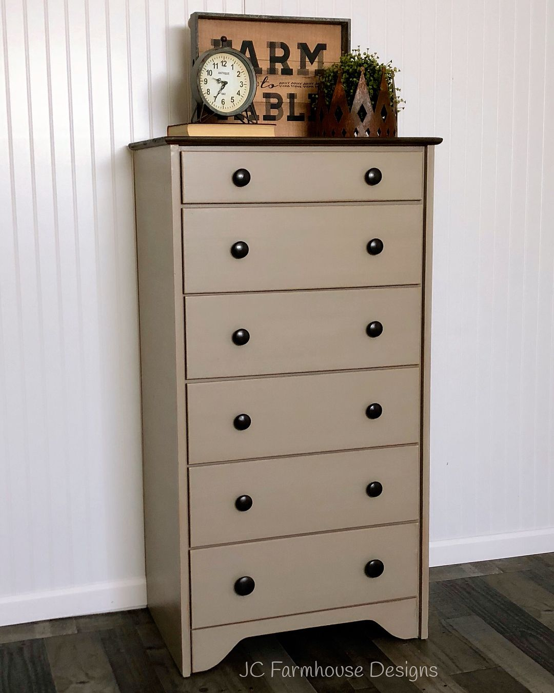 Best Beautiful Refinished Solid Wood 6 Drawer Dresser This 400 x 300