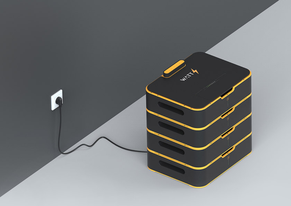 Watts is a huge battery that powers your home | Solar ...
