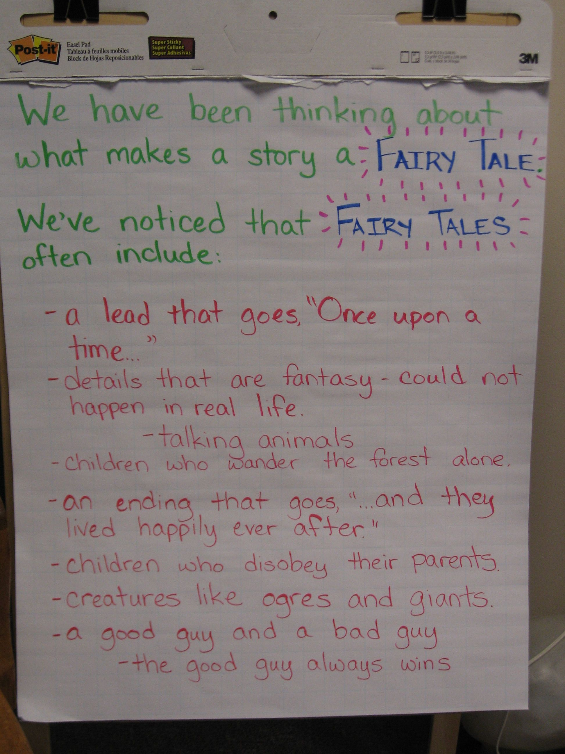 Elements Of Fairy Tales