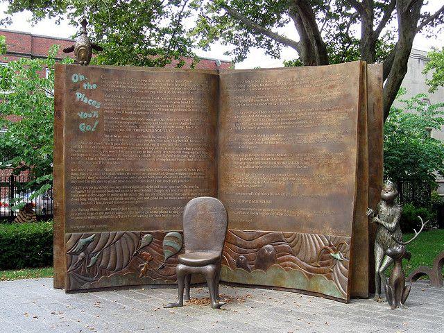 Dr. Seuss National Memorial Sculpture Garden, Springfield, MA