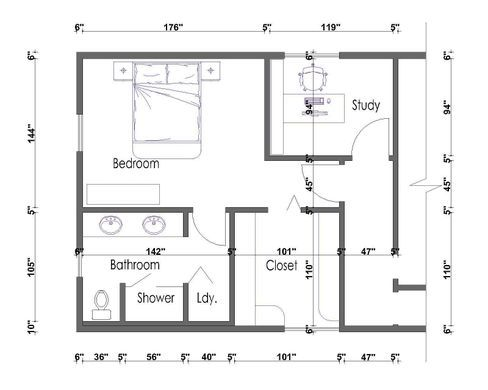Cute master bedroom suite layout ideas | GreenVirals Style ...