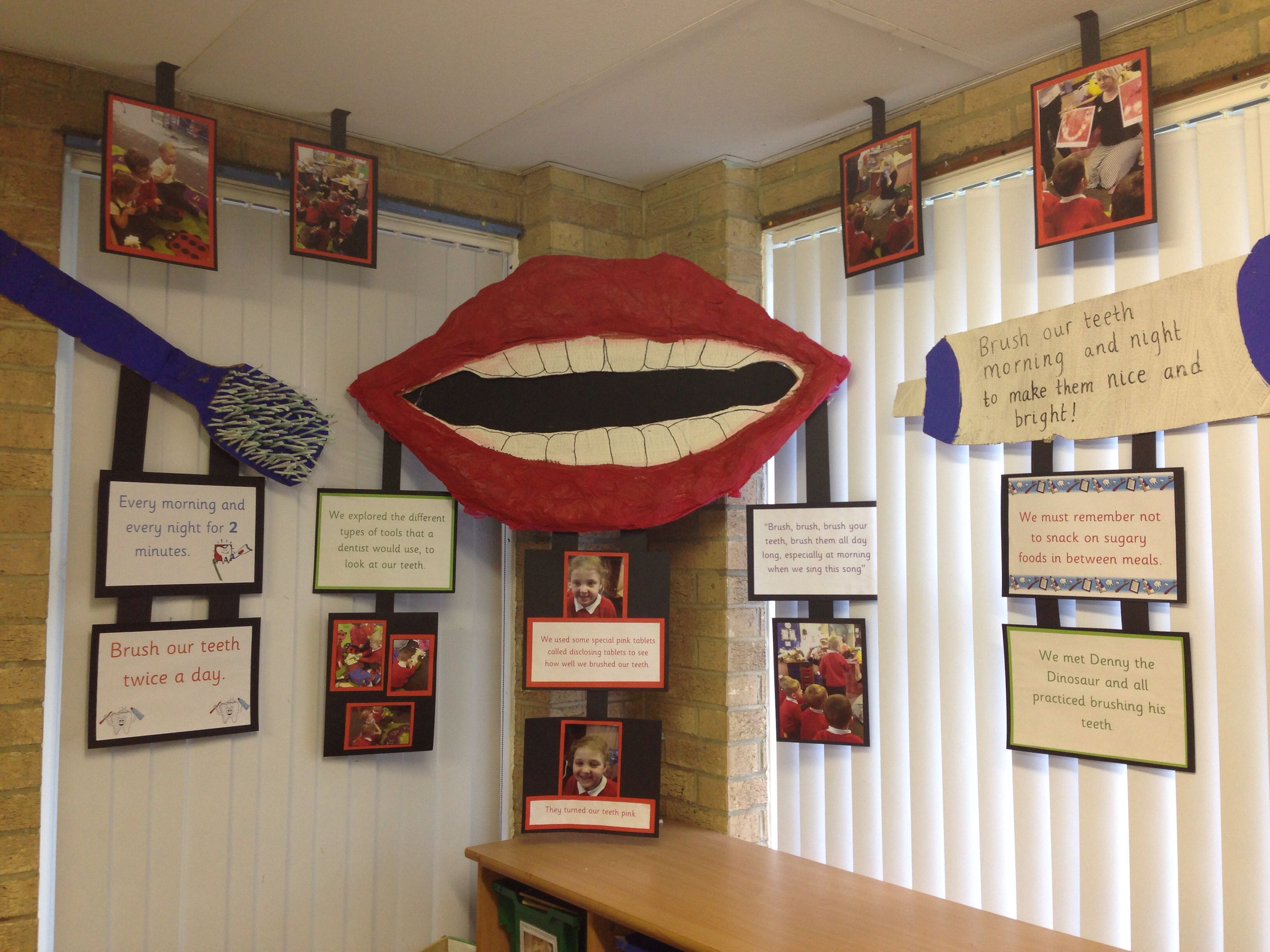 So Proud Of This Display I Did In Nursery Linked To