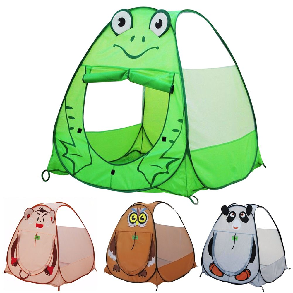 Playhouse for Kids Panda Frog Owl Monkey Shape Tent Animal Outdoor Childrenu0027s Tent Ball Pool Indoor  sc 1 st  Pinterest & Playhouse for Kids Panda Frog Owl Monkey Shape Tent Animal Outdoor ...