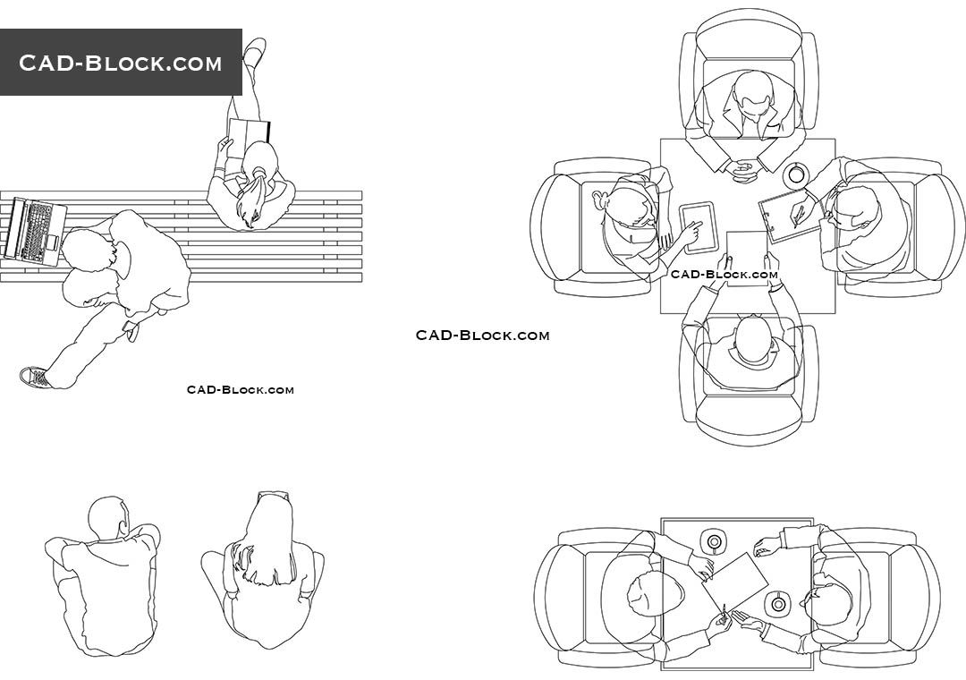 Person Sitting CAD drawings | AutoCad | Cad blocks, Person sitting