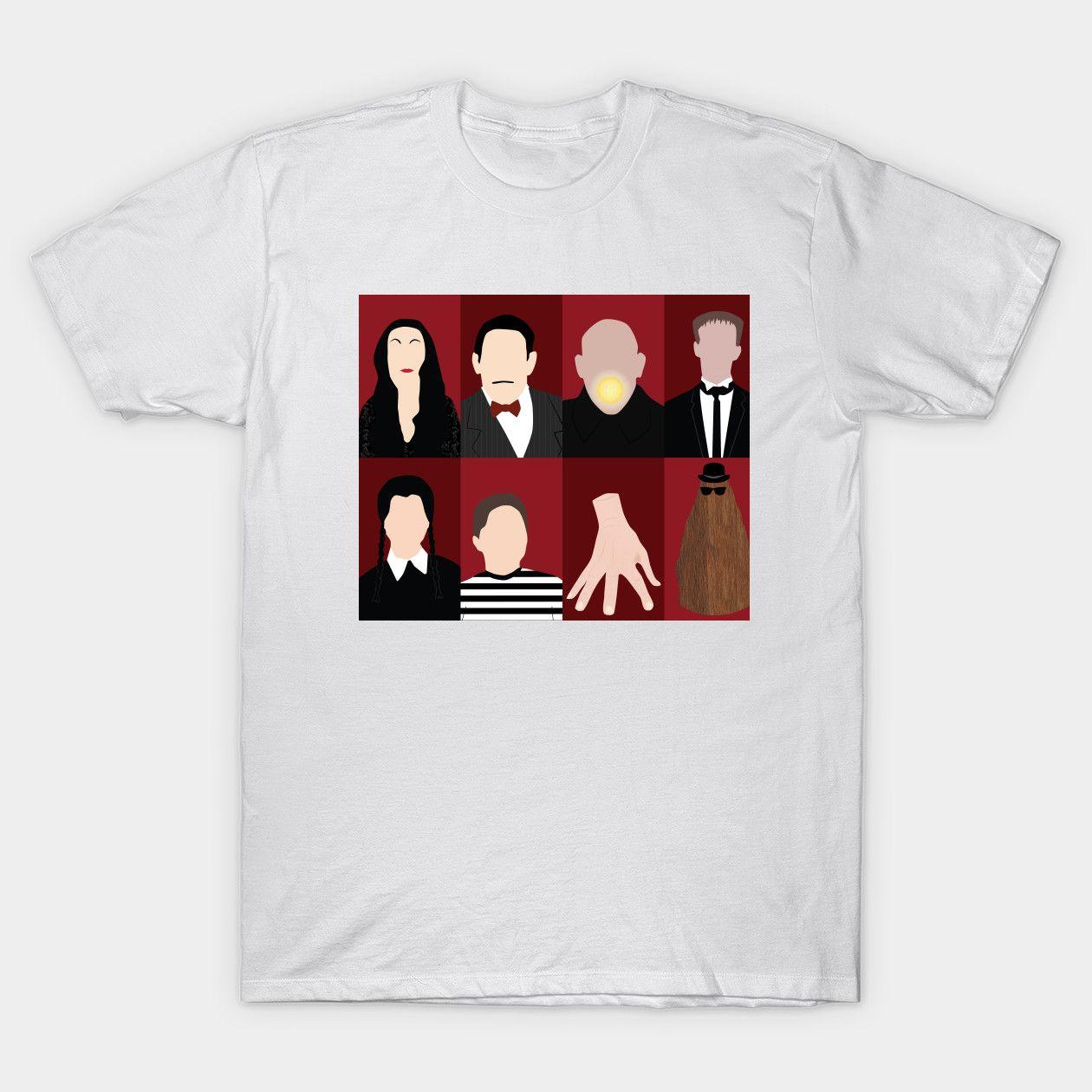 Addams Family Addams Family Classic T Shirt Classic T Shirts Family Shirts T Shirt