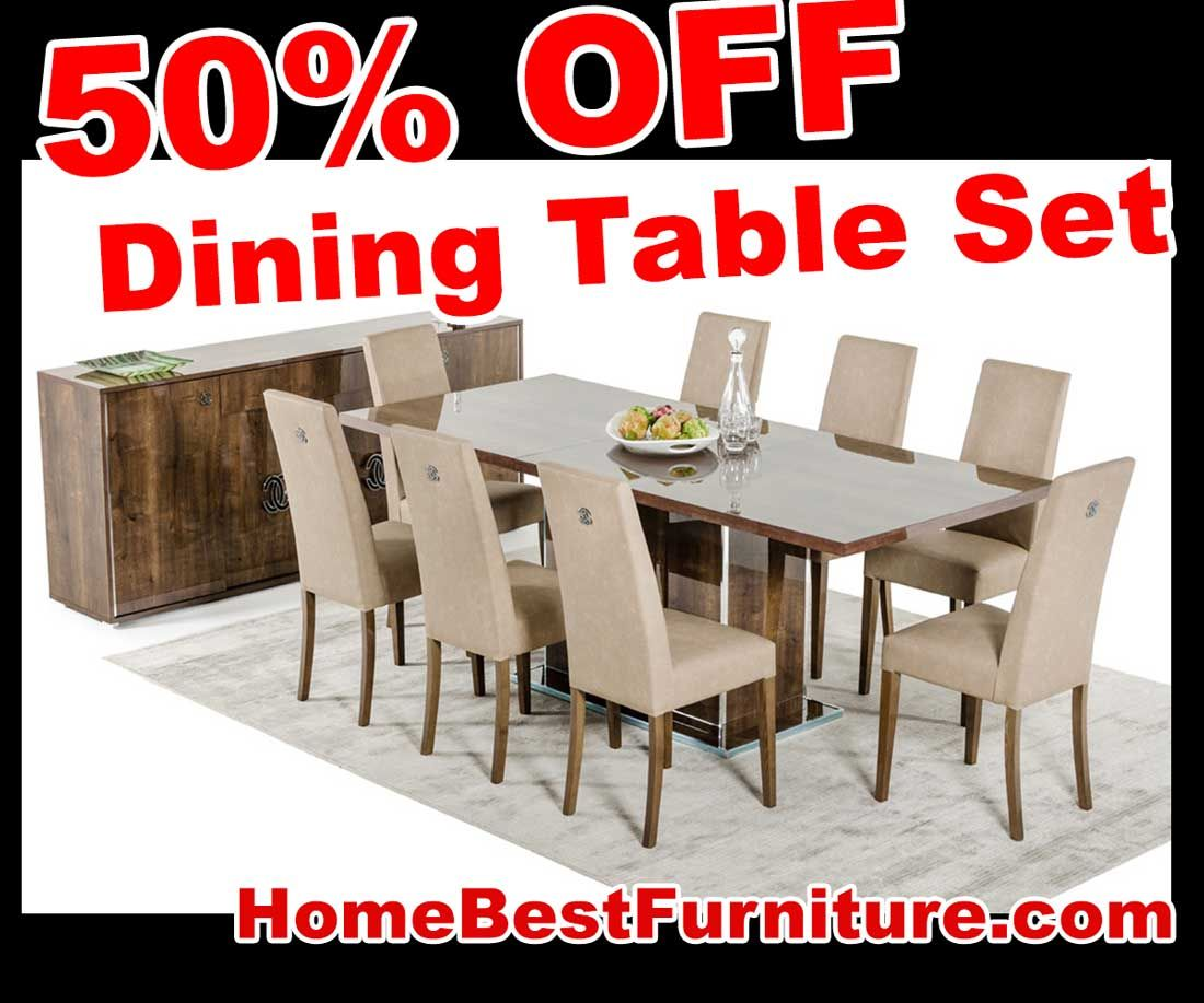 Sale Discount Modrest Athen Italian Modern Extendable Dining Table Adorable Dining Room Tables For Sale Cheap Design Decoration