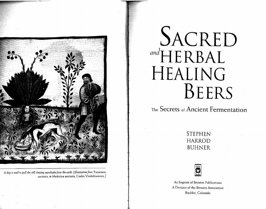 Sacred & Herbal Healing Beers: The Secrets of Ancient Fermentation. Free pdf