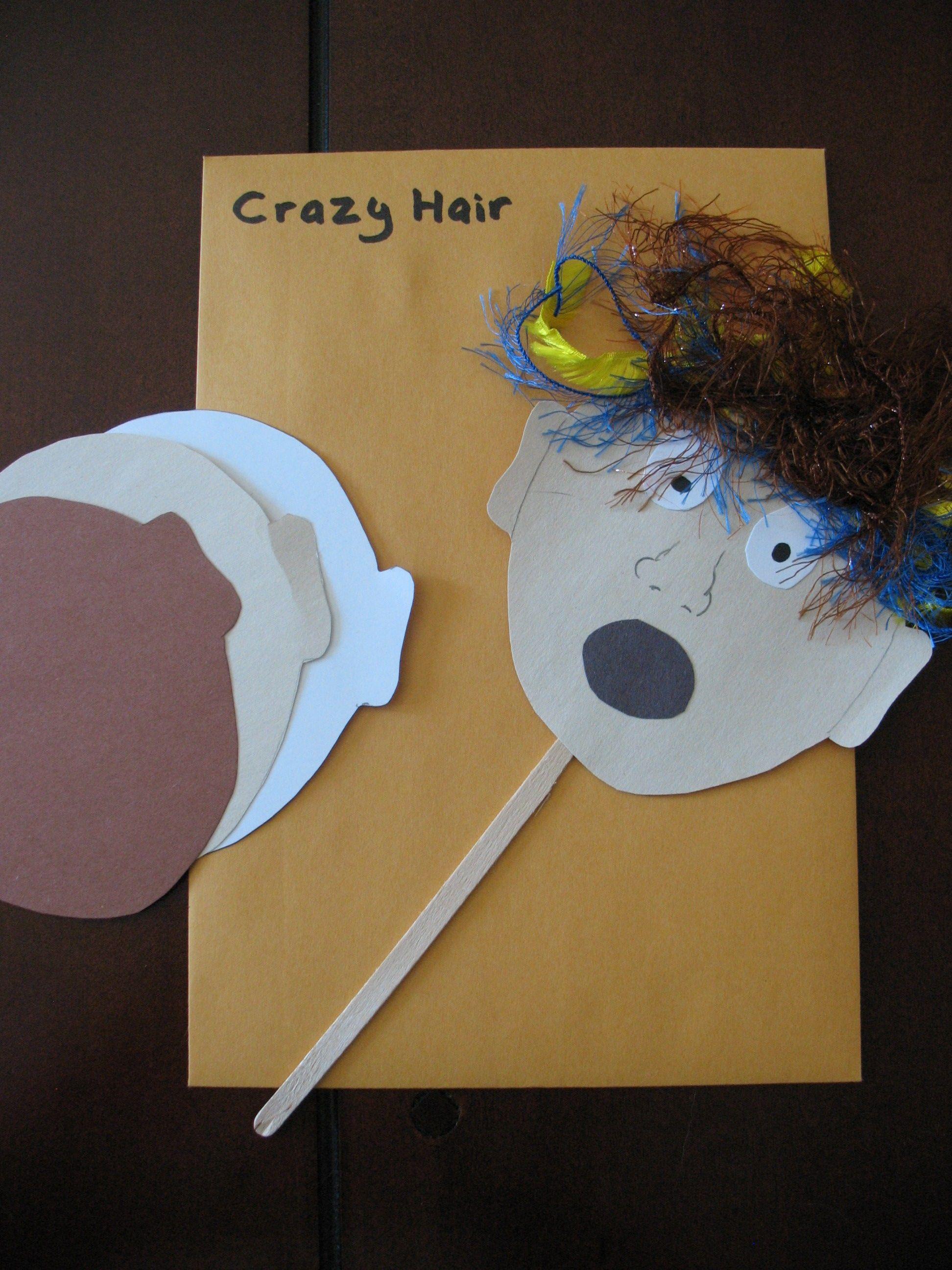 Crazy Hair Day Activities Kindergarten
