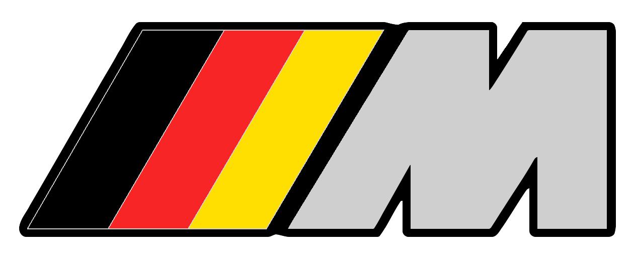2 bmw m motorsport logo vinyl sticker decal emblem m3 m5 m6 car emblems. Black Bedroom Furniture Sets. Home Design Ideas