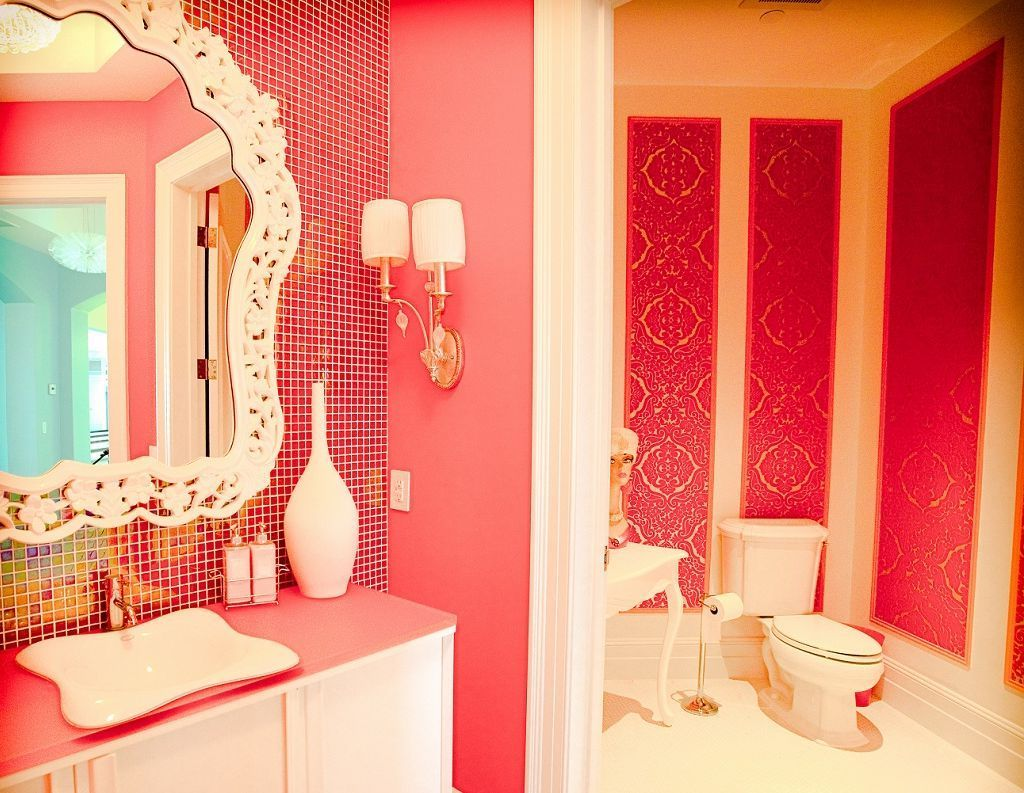 Orange And Hot Pink Interiors Images