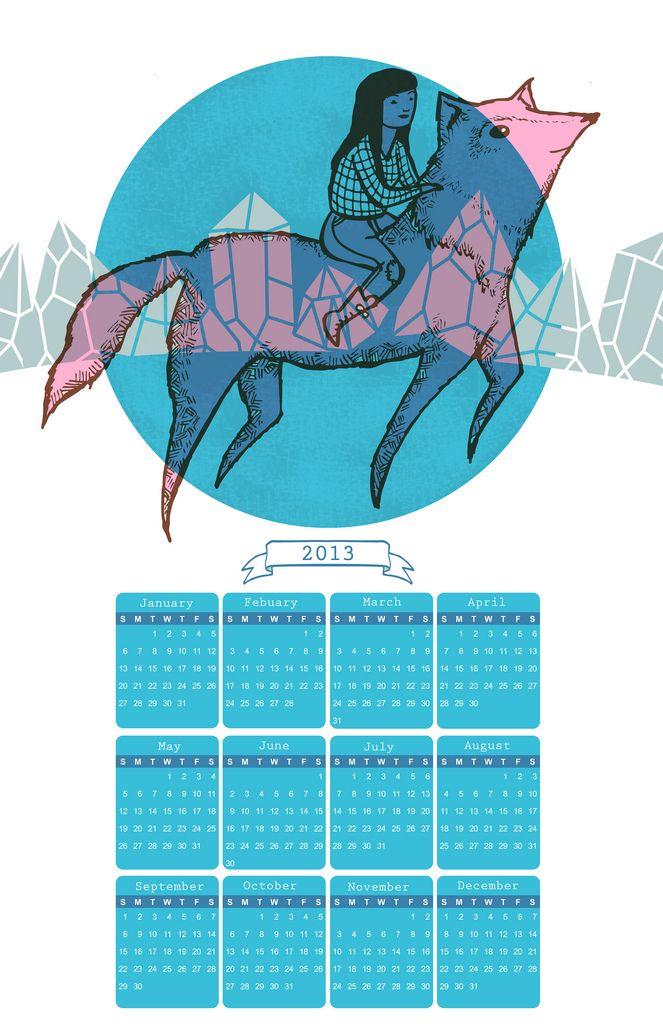 Wolf Girl 2013 Calendar   by Karlene Harvey