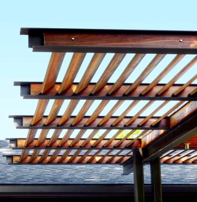 Carport And Garage Modern Architecture Jpg 1030 920: Pergola Patio, Steel Pergola, Pergola