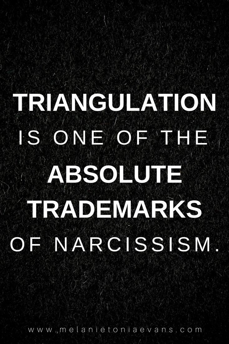 A Deeper Look At Triangulation | Psychology | Narcissistic