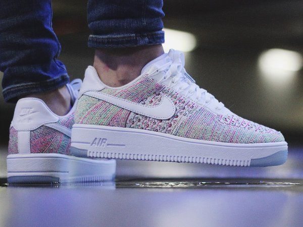 air force one flyknit low femme