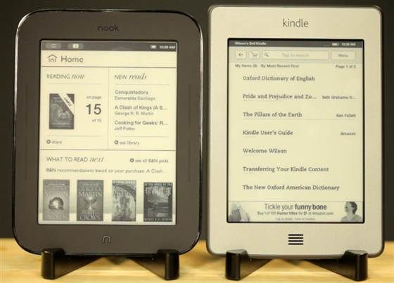 Touch: nook vs kindle