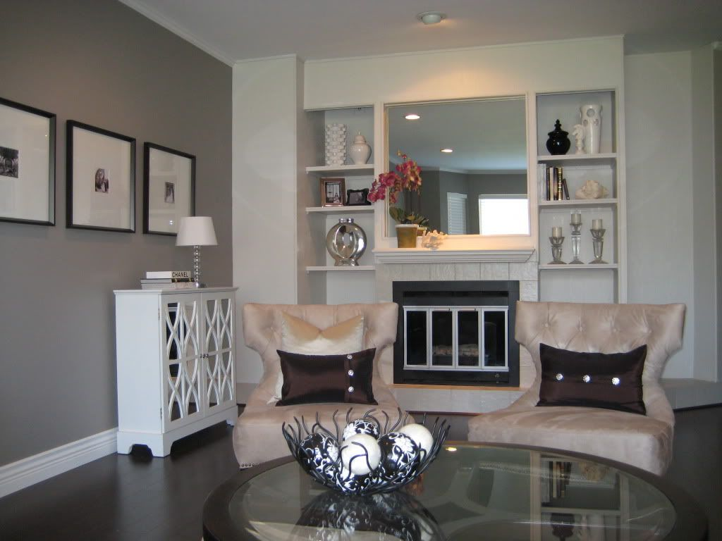 The Power Of Paint Living Room Remodel Small Basement Remodel Focal Point Living Room