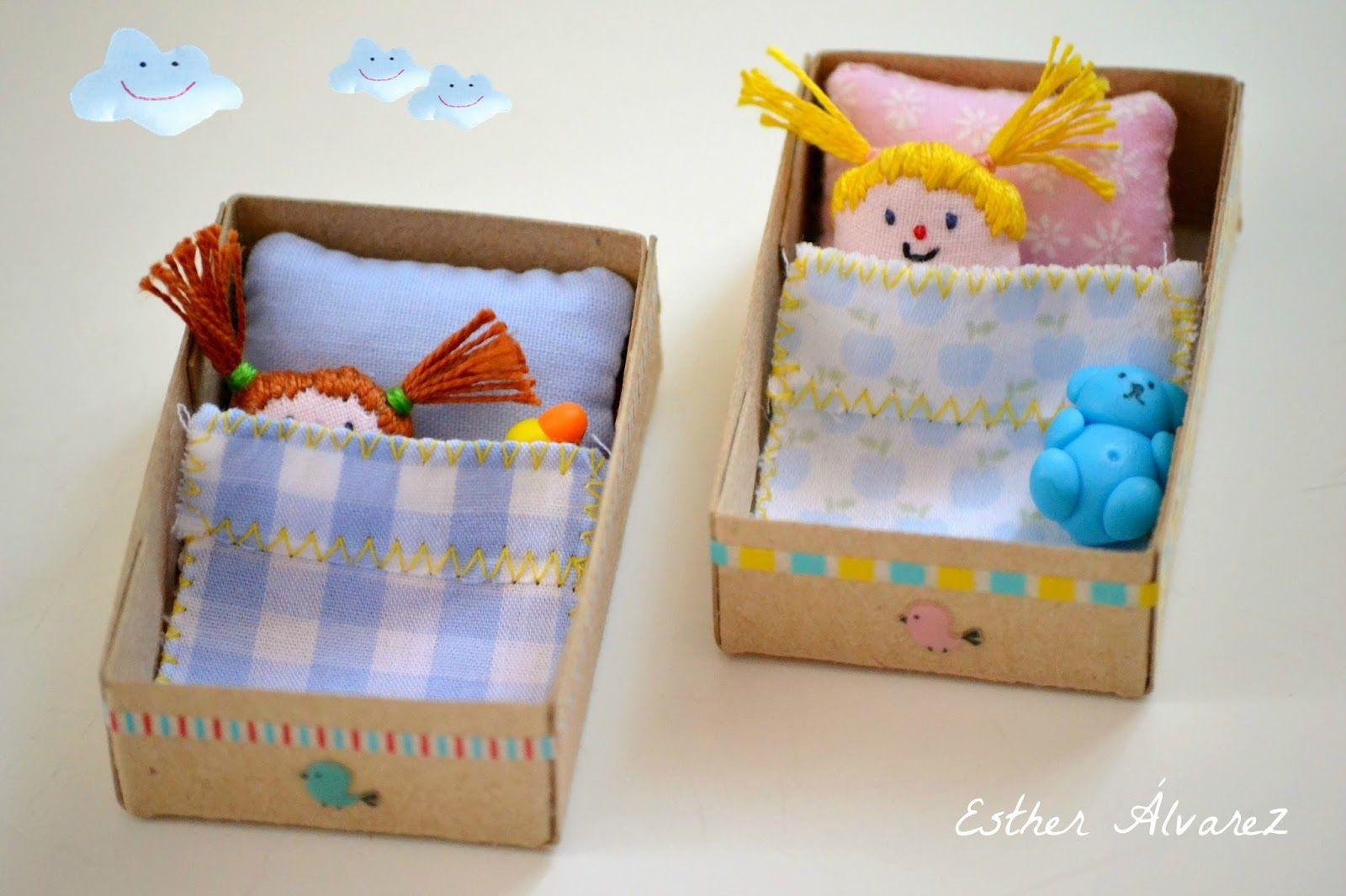 Cutest Little Matchbox Babies Felt Dolls