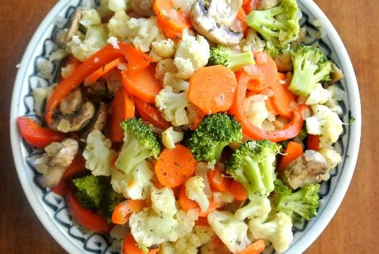 Veganism 101: Eat your vegetables. This Vegetable Jumble makes it simple and tasty!