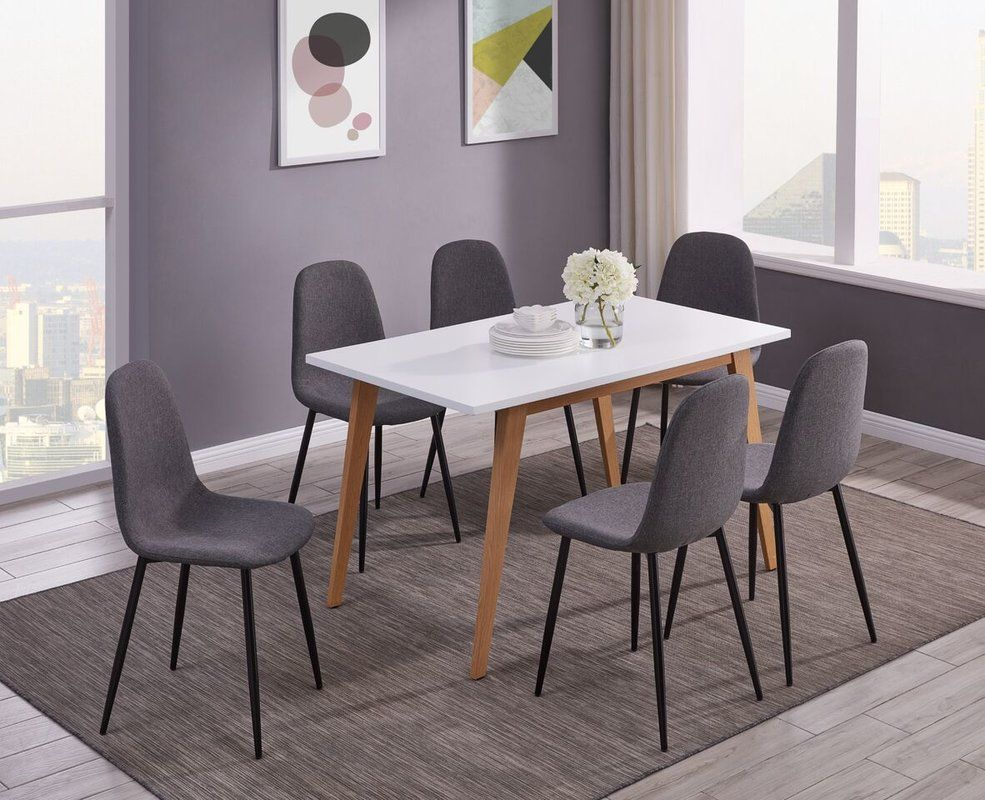 Strange Mauricio 7 Pieces Dining Set In 2019 Home White Dining Beatyapartments Chair Design Images Beatyapartmentscom