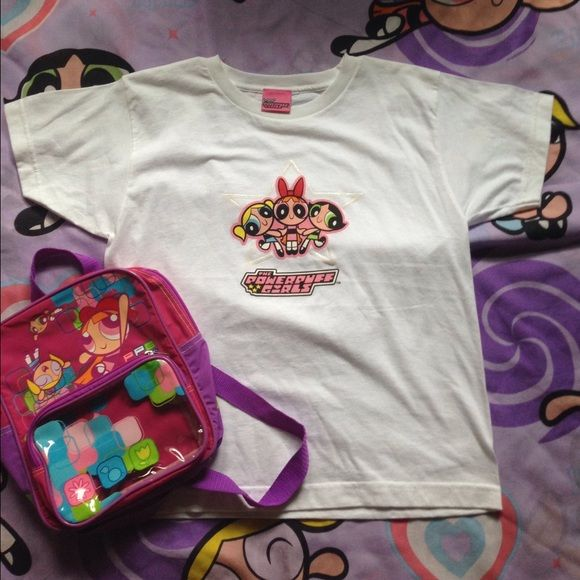 Vintage Powerpuff Girls Cute Shirt