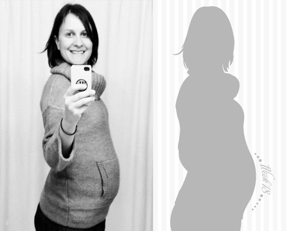 DIY way to document your pregnancy via Babble
