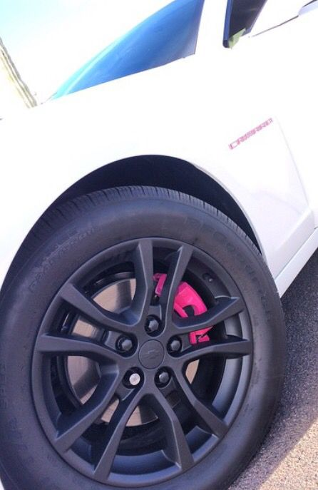 Hot Pink Brake Calipers Camaro Camaro Accessories Cruze Chevy