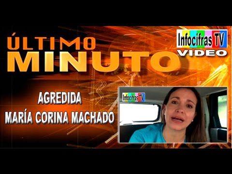 Ultimo Minuto: Agredida María Corina Machado en #ParqueCentral -Vídeo-   CIFRASONLINECOMVE @iNFOCIFRAS